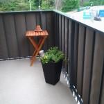 Balkongskydd